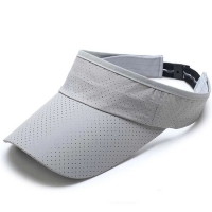 Buy cheap AZO Free Structured 3 Panel 100% Cotton Sun Visor Cap product