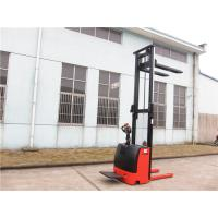 Buy cheap 1500kg Full Electric Pallet Stacker Truck 4.5m Lifting Height AC Motor product