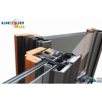 Quality Windows Aluminium Extruded Profile 12 Micro Anodizing Thickness for sale