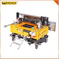 Buy cheap Blocks Wall 2.2Kw / 380V Cement Plastering Machine 80m² / Hour 4.2M high wall product