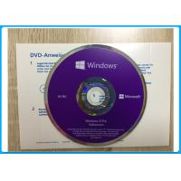 China Windows 10 Pro Software OEM English / French / Italian /  Russian/Japanese online activation on sale