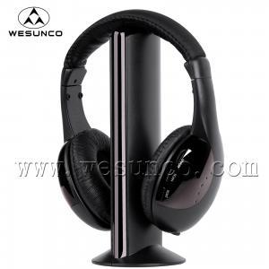 China 5 in 1 FM Wireless headphone ,Cordless headphone,Wireless headset on sale