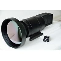China High Resolution  Infrared Optical Lens 400mm / 100mm Dual FOV Focus Length wholesale