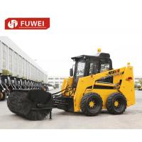 Buy cheap Used Best Wheel Skid Steer Loader with Planer Ws65 Skid Steer Loader, bobcat, CE, wheel loader,forklift product