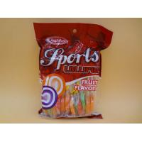 Buy cheap Mix Fruity Swirl Lollipops Healthy Hard Candy Round Lowest Calorie For Adults product