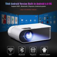 China Mini Projector Smart Consumer Electronics WiFi Home Cinema 2400 Lumens For 1080P Video Projector on sale