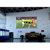Buy cheap Wall Mounting Indoor Advertising Led Display Screen P4mm 1920Hz Refresh Rate product
