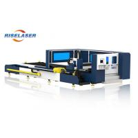 Buy cheap 4mm Carbon Steel Tube Pipe Sheet CNC Fiber Laser Cutting Machine with Raytools product