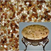 Buy cheap new translucent river pebble stone panel  for indoor decoration product