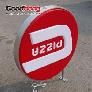 Buy cheap round illuminated top light box product