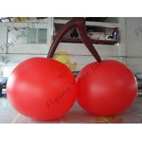Buy cheap Red PVC 3m High Cherry Shaped Balloons For Trade Fair Display product