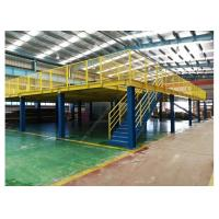 China Warehouse Storage Mezzanine Rack  And Platform Anti-rust Steel Shelf on sale