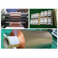 Buy cheap Soft Annealed Rolled Copper Foil For Conductive Tape Thickness 0.02mm product