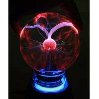 "China 3"" USB Plasma Ball with 7 colors lighting USB Gadgets Computer Peripheral wholesale"