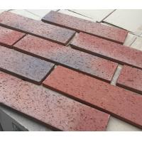Buy cheap HM96423 Rough Surface Exterior Thin Brick Building House Faux Brick Exterior Cladding product