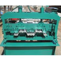 Buy cheap Automated PLC Control  High Precision Steel Structure Floor Deck Roll Forming Machine For Metal Decking Sheet product