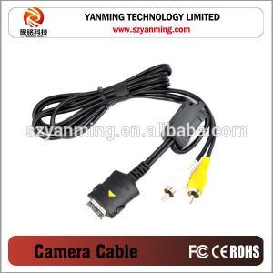 China mini 5pin camera av cable for canon on sale