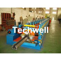 Buy cheap 2.0-3.0mm Heavy Duty Upright Racking / Shelf Roll Forming Machine With JH21-80 Ton Press Machine To Punch Holes product