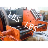 Buy cheap LBS Grooved Sleeve Spooling Device Hydraulic Winch 3 MM - 190 MM Wire Diameter product