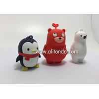 China Custom pvc silicone cute 3d carton figures animal shape action figures for furniture display on sale