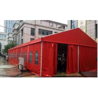 Buy cheap Fire Resistant Red Outdoor Wedding Tents PVC Outside Party Tents Customized product