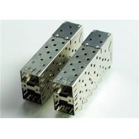 Buy cheap 76090-5001 CONN CAGE SFP+ 2X1 W/LIGHT PIPE 	THT, R/A, Board Guide, EMI Shielded product