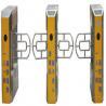 CE Approved Full Height Flap Barrier Turnstile 30 - 60 Degrees Celsius Zero