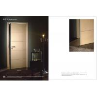 Buy cheap HS-16 Swing Side Hinged Doors With Hdf Board, Durable Hinged Fir Wooden Interior Door 2100*900mm Factory product