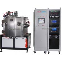 Buy cheap Stainless Steel PVD Coating Machine , Black Ion Plated Stainless Steel Film Vacuum Generator product