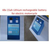 Buy cheap Energy Storage Optimum Motorcycle Lithium Battery High Voltage 48v 15ah product