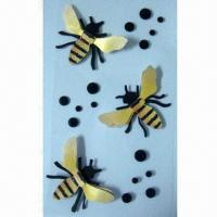 Buy cheap 3-D Handmade Craft Paper Stickers with Self-adhesive, Decorating Scrapbook, Cards and Gifts Boxes product