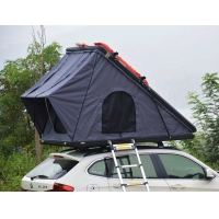 Buy cheap Family Camping SUV Hard Shell 125cm 4x4 Roof Top Tent with Telescopic Ladder product