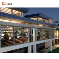 Buy cheap Exterior Roller Shutter Anodised 4mm Aluminium Louver Window product