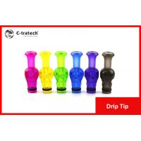 Buy cheap Mini Ego W Yellow E Cigarette Drip Tip For E Cig Clearomizer from wholesalers