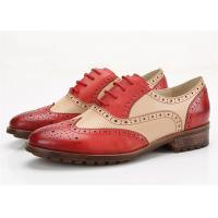 Buy cheap Color Blocking Comfortable Trendy Shoes Womens Brogues Oxfords Low Heel Type product