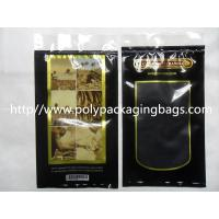 Buy cheap Moisturized System Cigar Humidor Bags Ziplocked with slider Easy Open & Close product