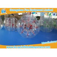 Buy cheap Funny Football Bubble Games Inflatable Bubble Ball Water Rolling Ball With Red Handles product
