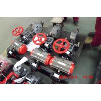 Buy cheap Soft / Metal Seat Sealing Pneumatically Operated Butterfly Valve High Performance product