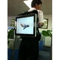 China  Electronic Billboard Lightweight Backpack Lcd Advertising Display Outdoor Advertisement  for sale