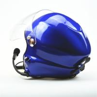 China Hot sale Noise cancel Powered paraglider helmet Blue paramotor helmet with goprobase professional factory on sale
