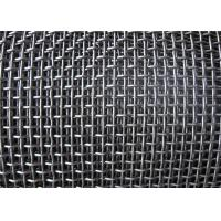 Buy cheap Smooth Hooked Galvanized Wire Mesh / Quarry Screen Mesh Low Carbon Steel product