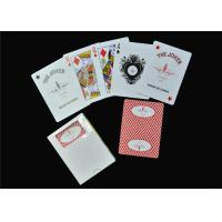 China Personalised Casino Playing Cards , Adult Party Game Gambling Poker Cards on sale