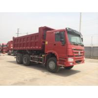 Buy cheap 16m³ 6x4 336hp HOWO Heavy Duty Dump Truck For Transporting Soil / Sand product