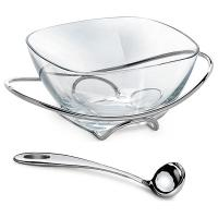 wholesale clear glass candy bowl for parties and festivals