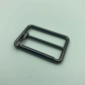 Buy cheap Black W33mm Needlepoint Belt Buckle Customized Logo Bag Accessory product
