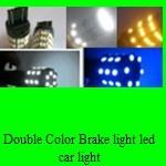 Buy cheap Double Color Brake light 3157 60SMD 5050  1W color changing led brake bulb product