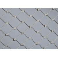 Buy cheap Anti Corrosive Balustrade Wire Mesh 1.2mm-3.2mm Wire Diameter For Sightseeing Platforms product