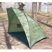 Buy cheap Transportable Durable Single Layer Shade Fishing Tent / Sunscreen Tent product