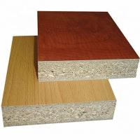 Buy cheap 1220*2440mm Size Melamine Faced Chipboard Non Toxic Poplar / Pine Material product