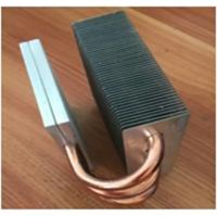 Buy cheap Aluminum heatsink / Copper Pipe Heat Sink Silver Body Color CE GS product